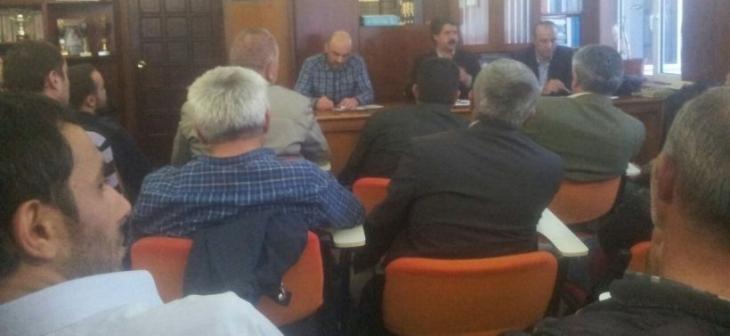 İkitelli-Güneşli havzasında işçiler 1 Mayıs toplantısı yaptı