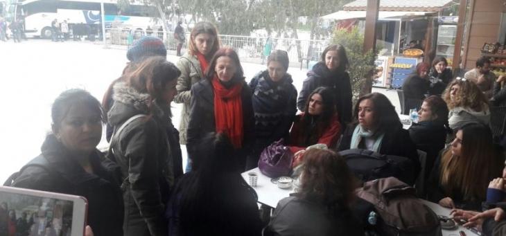 İzmir'den Diyarbakır'a giden barış yolcularına engel