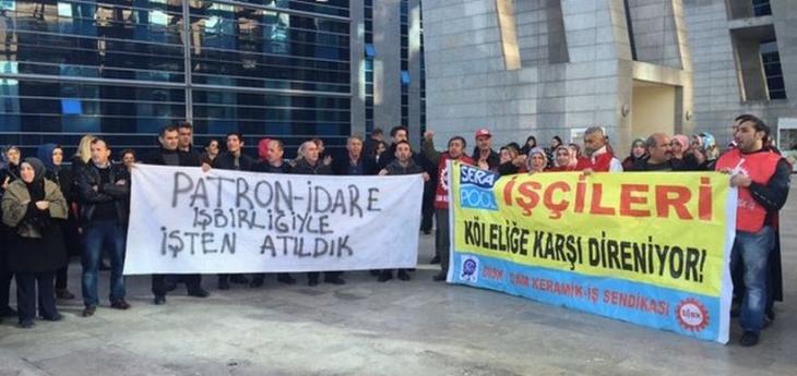 Serapool davasında karar çıktı: Fiili grev işçinin hakkıdır