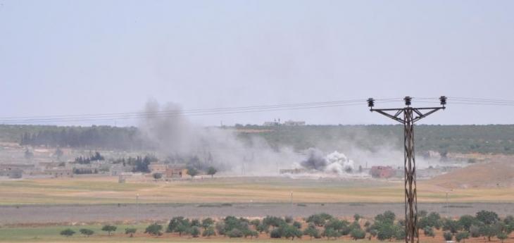 IŞİD'den Karkamış'a havanlı saldırı