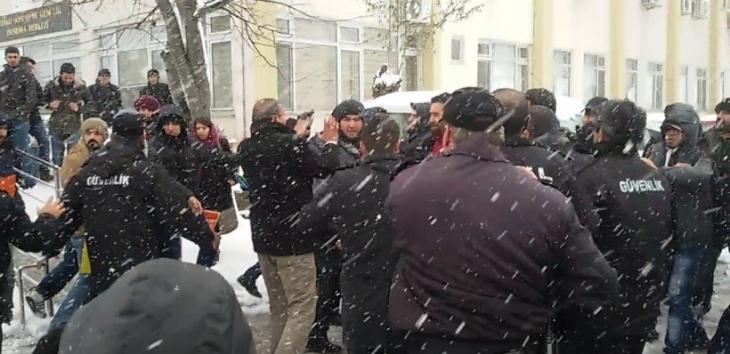 Uludağ Üniversitesinde Roboskî eylemine saldırı