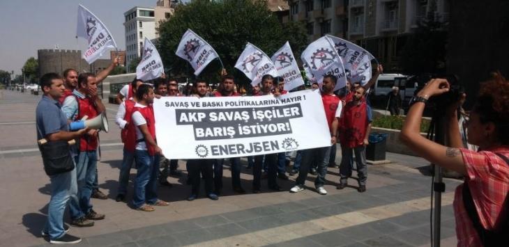 Enerji işçileri: Her şeye rağmen barış kazanacak