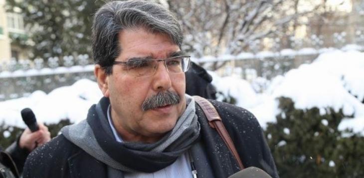 PYD Eş Başkanı Salih Müslim Cenevre'ye gitti