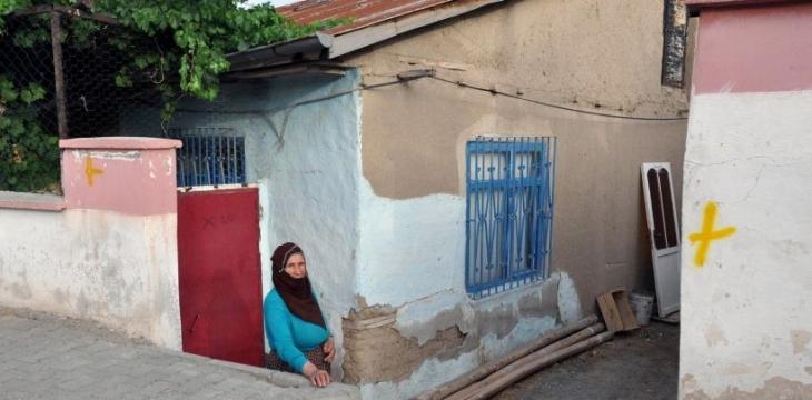 Elazığ'da Alevilerin evleri işaretlendi