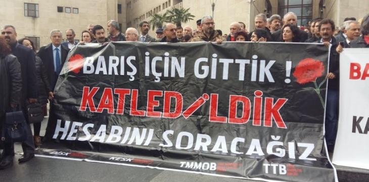 Bursa'da barış mitingine katılan BES yöneticisi sürgün edildi