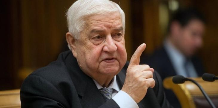 Suriye Dışişleri Bakanı Muallim: Federalizme karşıyız