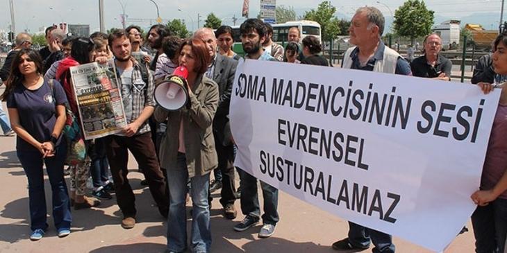 Soma katliamı sonrası Evrensel dağıtıcılarına saldıranlara 11 ay 20 gün hapis cezası