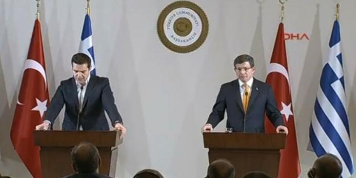 Davutoğlu'dan Kilis açıklaması: Her türlü saldırıya karşılık verilecek