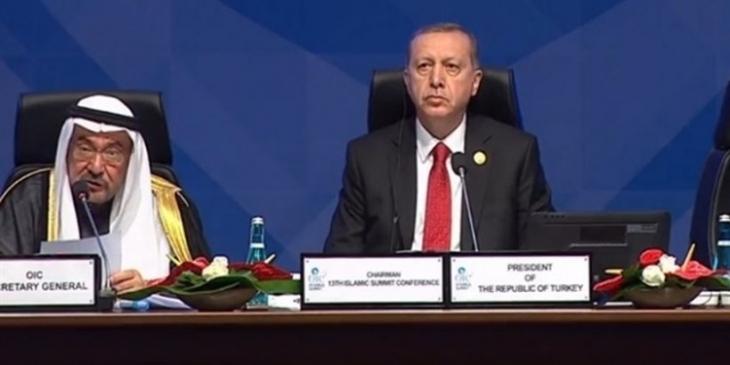 Erdoğan İslam İşbirliği Teşkilatı'na aidat ödemeyen ülkelere kızdı: '2 milyon dolar bağış yapacağız'