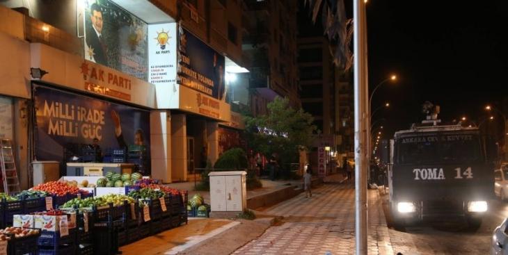 Diyarbakır'da AKP binasına ses bombası atıldı