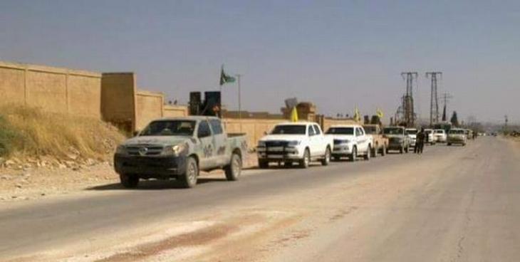 YPG: Rakka-Sirrîn yolu kesildi