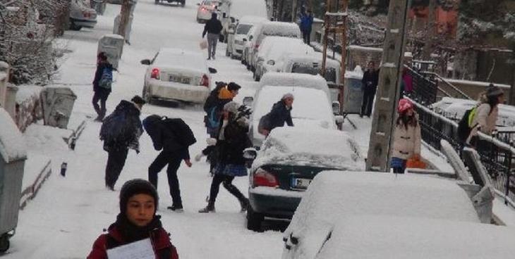 Kocaeli'de yarın okullar tatil
