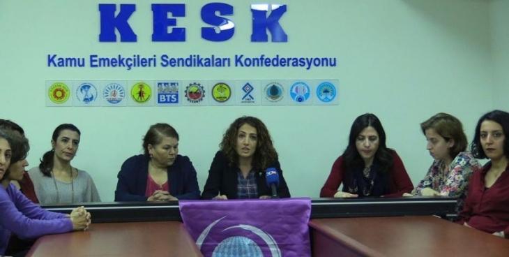 KESK'li kadınlar 8 Mart eylem takvimini açıkladı