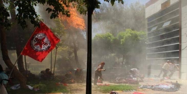 Suruç Raporu açıklandı: 'Bombalarla engellenmek istenen inşa süreci tamamlanacak'