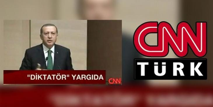 CNN Türk'e 'diktatör' soruşturması