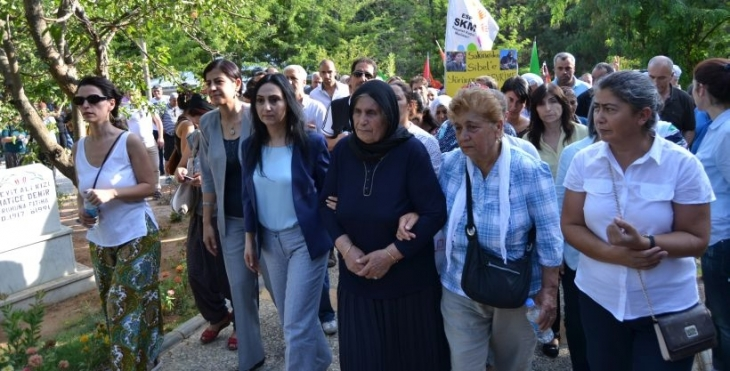Sakine Cansız'ın anıt mezarı açıldı