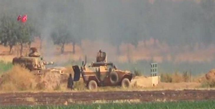 IŞİD kontrolündeki bölgeden karakola ateş açıldı: 1 asker yaşamını yitirdi
