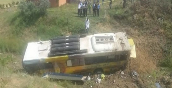 Ankara'da belediye otobüsü şarampole yuvarlandı: 3 ölü, 26 yaralı