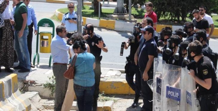 Mardin'de Barış Anneleri'ne biber gazlı saldırı