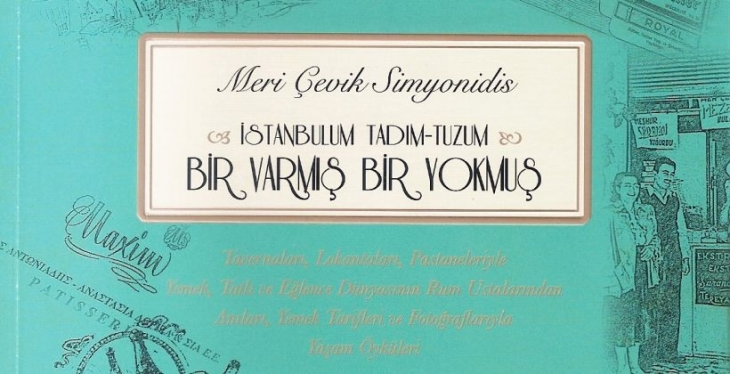 Simyonidis'in yeni kitabı İstos Yayınlarından çıktı: 'Bir Varmış Bir Yokmuş'