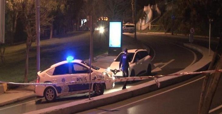 Beşiktaş'ta bir kişi 'canlı bomba' şüphesiyle vuruldu
