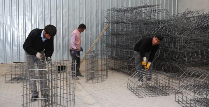 Vanlı işçilerin en  acil talebi barış