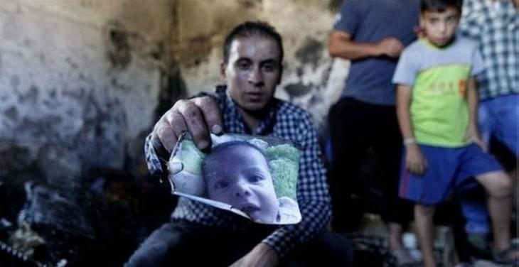 Filistinli bebeğin katili tutuklandı
