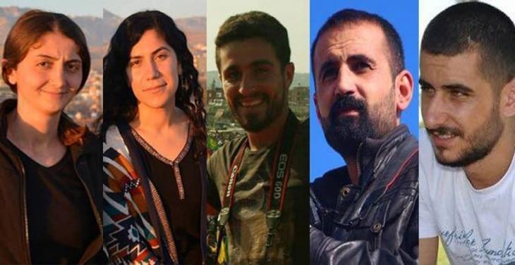 Silopi'de 5 gazeteci gözaltına alındı