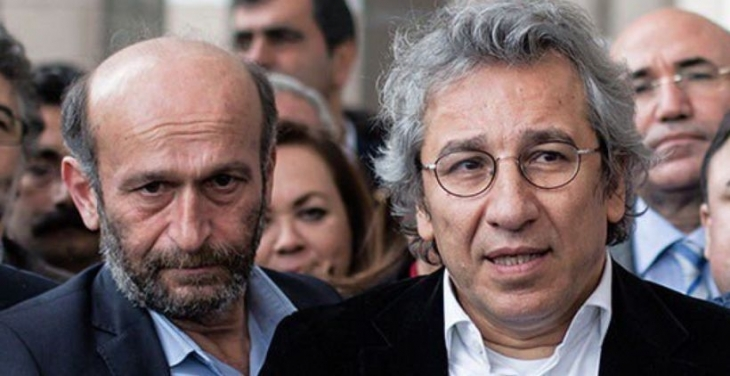 Can Dündar ve Erdem Gül'ün avukatları tahliye talebinde bulundu
