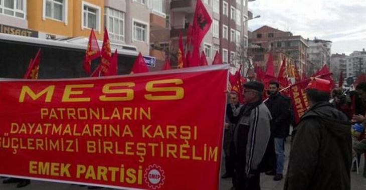 Türk Metal'in EMEP'lilere saldırısını işçiler önledi