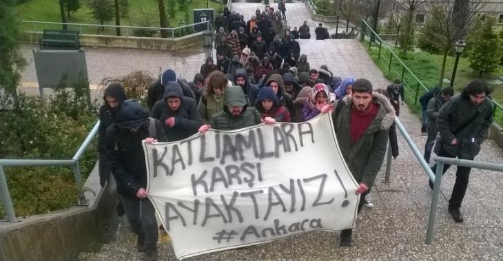 Ankara'daki 3. katliam, KOÜ'de lanetlendi