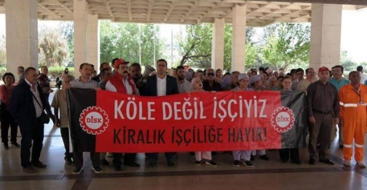 Genel-İş Antalya Şubesi: Taşeron işçilere kadro verilsin