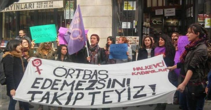 Halkevci Kadınlar: Ensar Vakfı kapatılsın