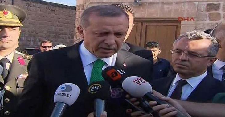 Erdoğan: Meclis başkanı seçilmeden hükümet kurma görevini vermem
