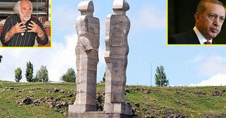 'Haram parayı heykele yatırmam' sözüne hapis talebi