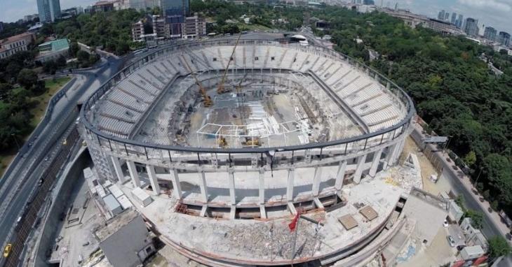 Beşiktaş'ın çatısı hazır