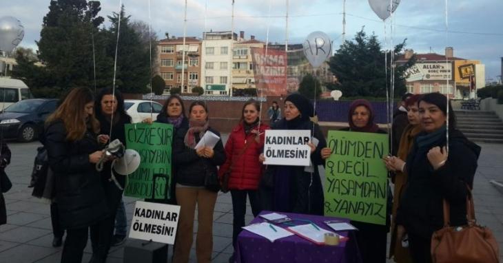 Kadınlar barış için sokağa çıkıyor: Ölümden değil yaşamdan yanayız