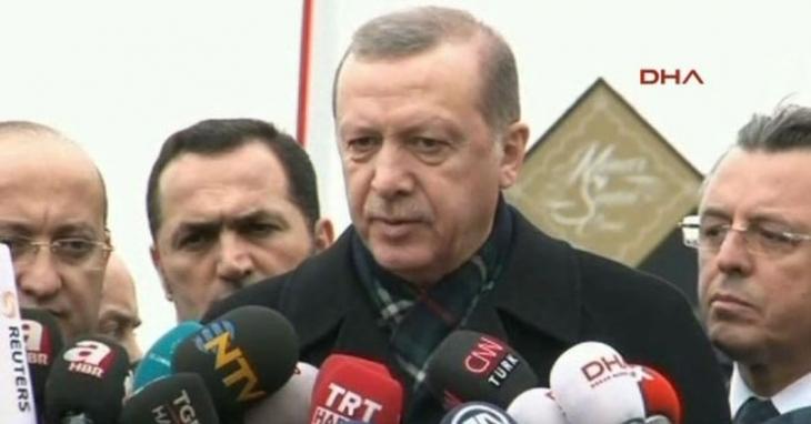 Erdoğan: Canlı bomba YPG'li, hiçbir şüphemiz yok