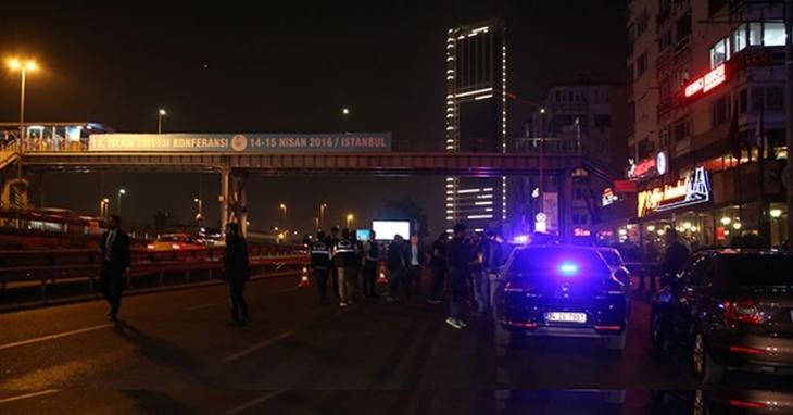 Mecidiyeköy'de ses bombası patladı: 3 kişi hafif yaralandı