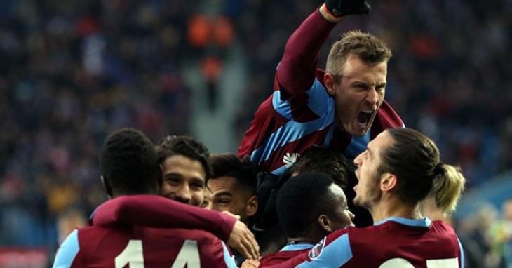 Trabzonspor, 2'nci yarının en iyisi