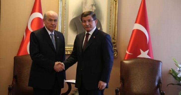 Davutoğlu-Bahçeli görüşmesi sonrası MHP'den ilk açıklama: 'Başkanlık olmaz'