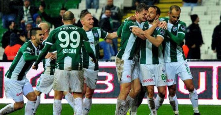 Bursaspor, Trabzonspor'u 4-2 mağlup etti