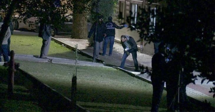 Üniversite bahçesine el yapımı 4 patlayıcı atıldı