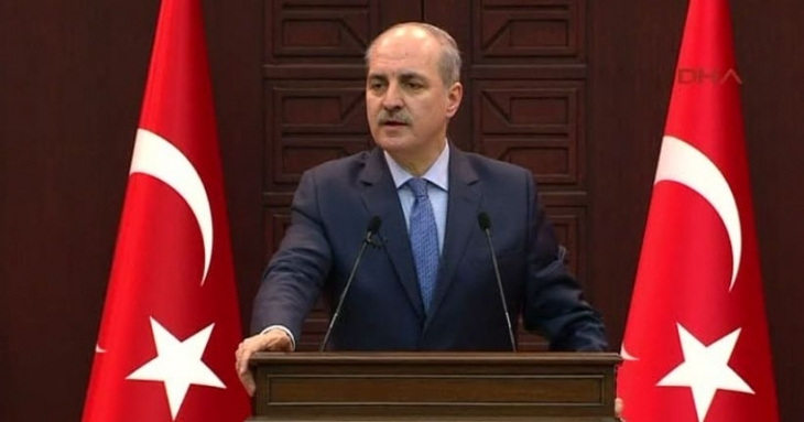 Kurtulmuş: PYD'nin Cenevre'ye katılmasını engelledik
