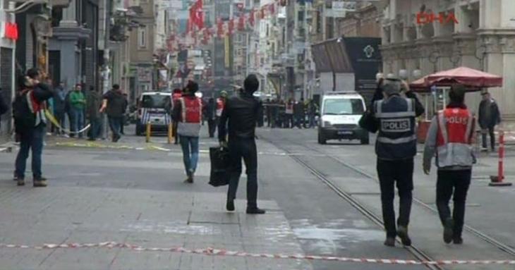 İstiklal Caddesi'ndeki canlı bomba saldırısına yayın yasağı getirildi
