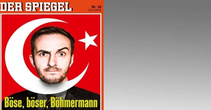 Der Spiegel dergisi mizah krizini kapağına taşıdı