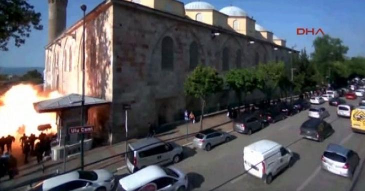 Bursa'daki saldırının yeni görüntüleri ortaya çıktı