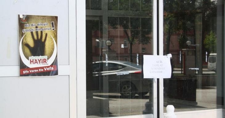 'Doktor yok diye acil servis kapatıldı' iddiası