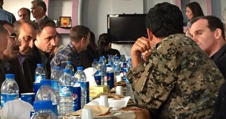 ABD'den Kobanê'ye PYD ziyareti