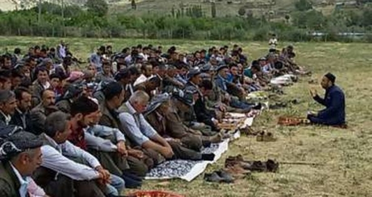 HDP'ye oy veren imama cami yasağı!